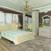 Спальня «Венеція Нова» піно беж
