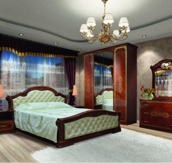 Спальня «Венеція Нова» піно горіх