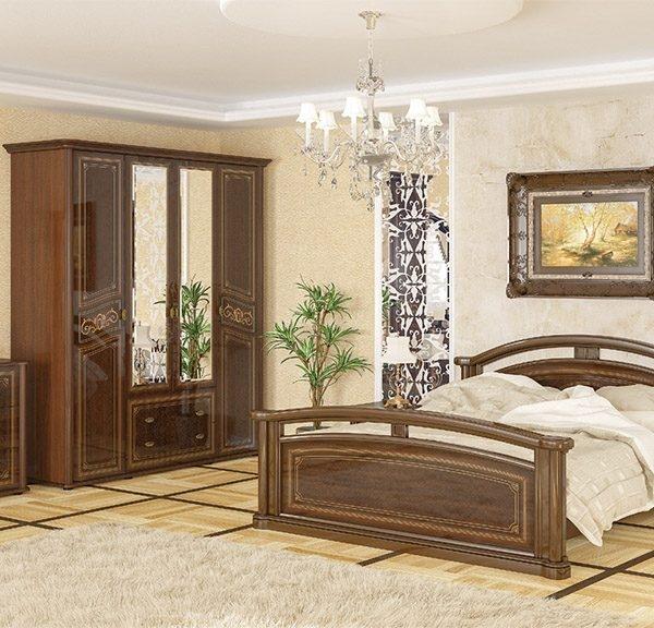 Спальня «Алабама» вишня портофіно
