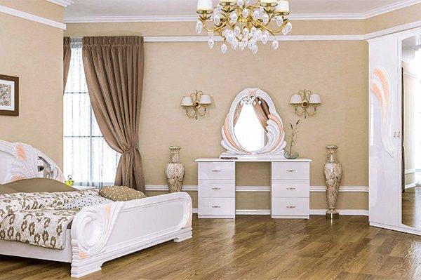 Спальня «ЛОЛА» Глянець Білий